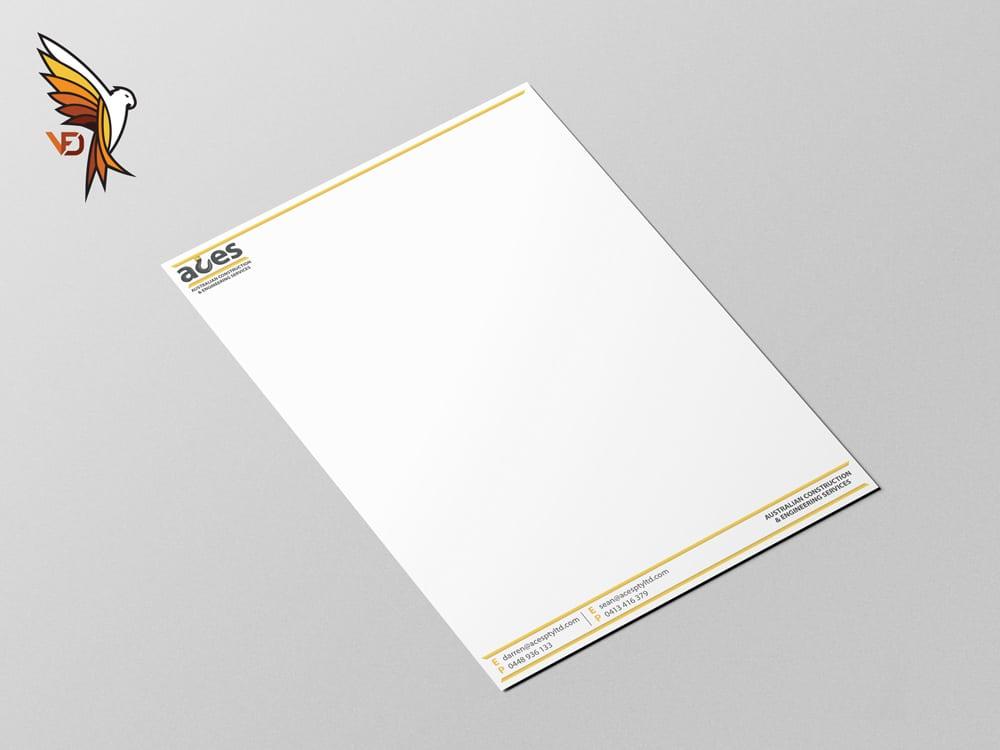 ACES Pty Ltd Letter Head