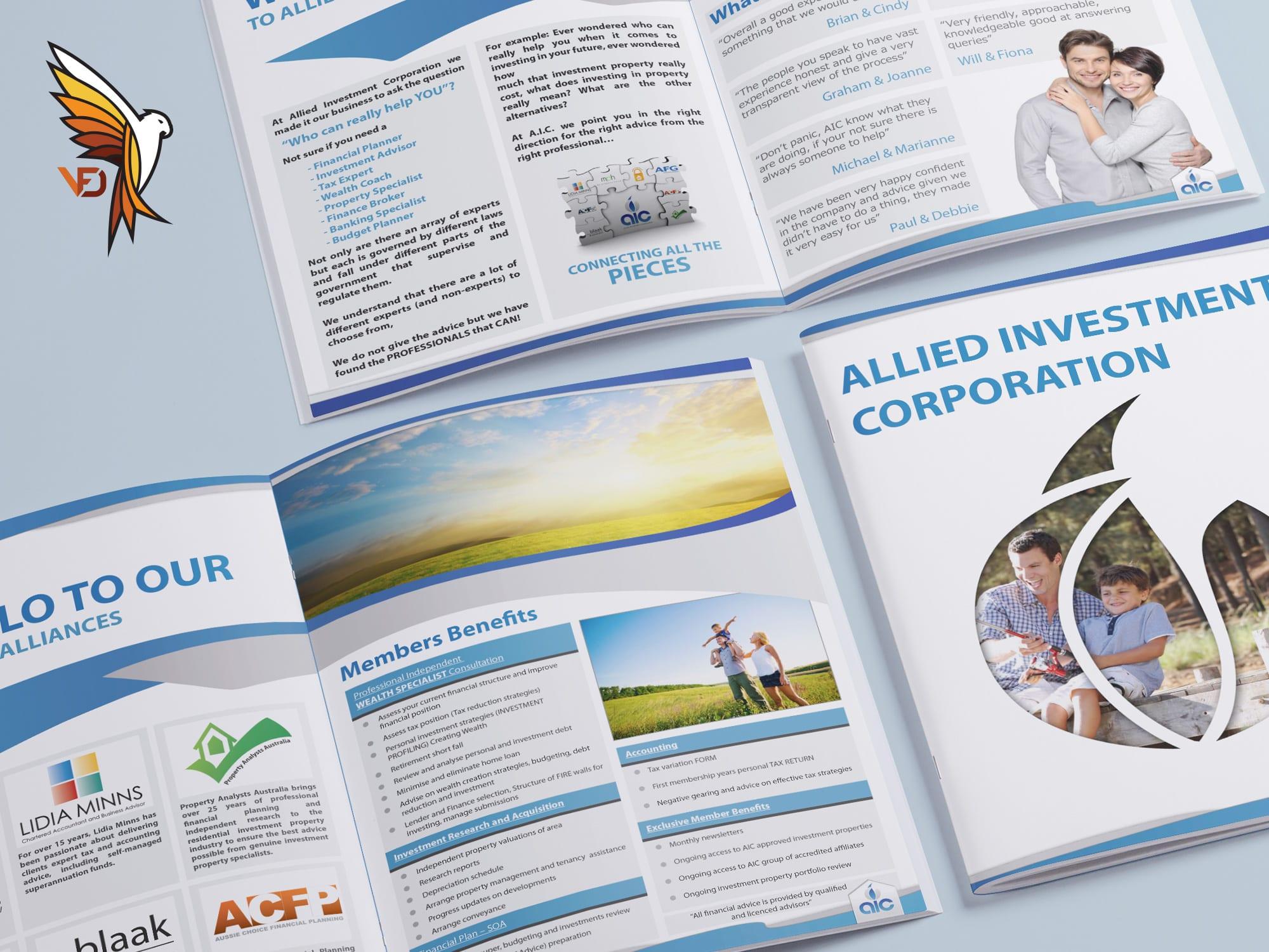 AIC - Booklet Design